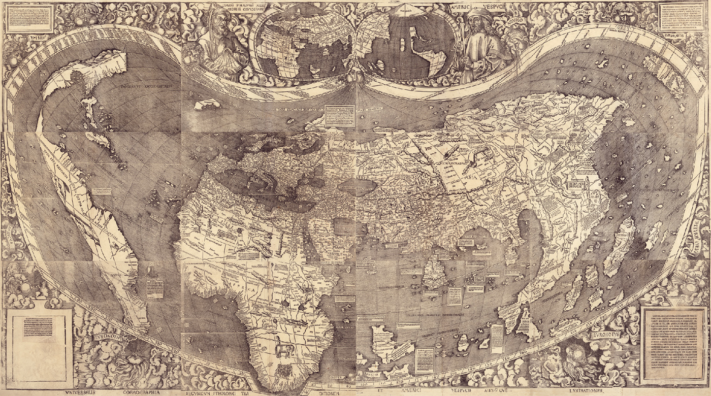 Planisferio Waldseemuller